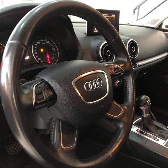 Audi A3 Sportback TFSI automático 2014 - Impecável!!! - Foto 4