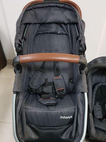 Carrinho de bebê Epic Lite Vintage Isofix - Infanti - Foto 5