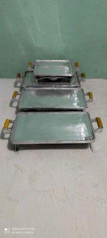 Picanheira de alumínio batido  - Foto 4