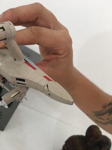 Vendo Drone Star Wars Modelo T65 X Wing usado apenas uma vez! - Foto 3