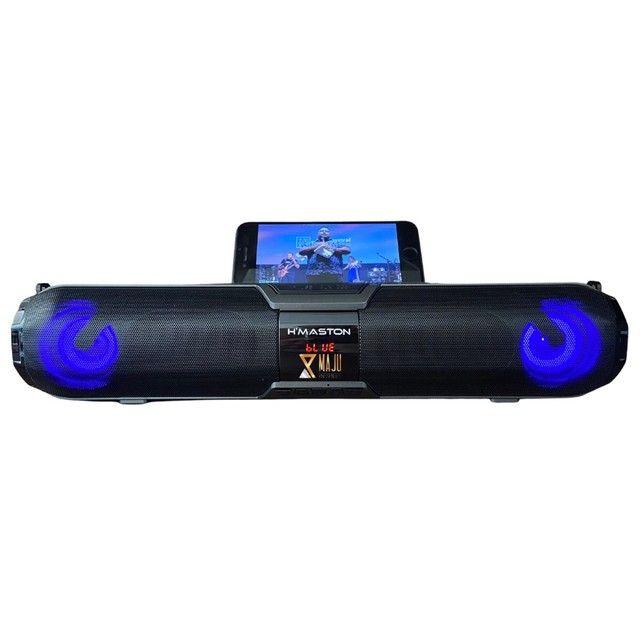 Caixa de Som Alto Falante Hmaston Relogs X22S 20w Portátil Bluetooth  - Foto 4