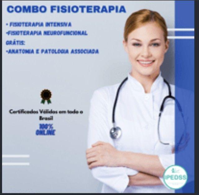 Curso de Fisioterapia intensiva+ Fisioterapia Neorofucional+Anotomia Patologia Associada