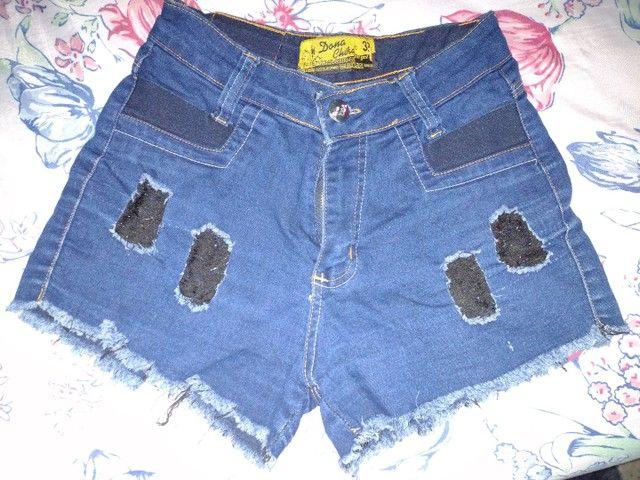 Vendo short jeans e saia jeans - Foto 5