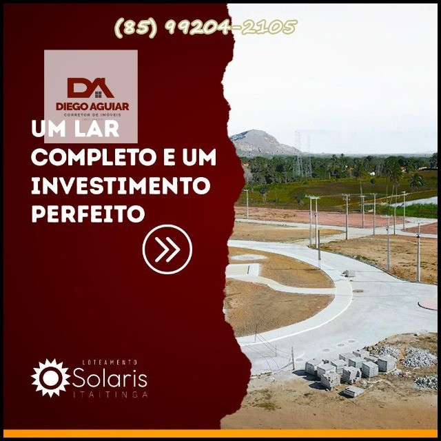 Solaris Loteamento em Itatinga-Gererau *&¨%$ - Foto 7