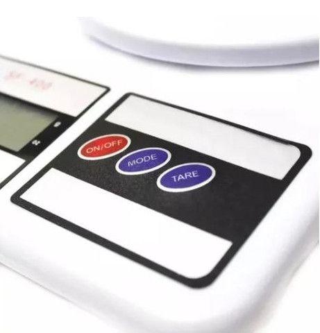 Balança de Precisão Digital para cozinha Nutrição e Dietas - Foto 4