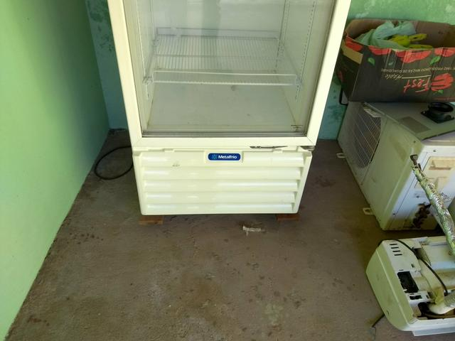 Freezer vertical exposição