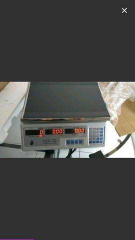 Balança comercial 30klg tel e zap