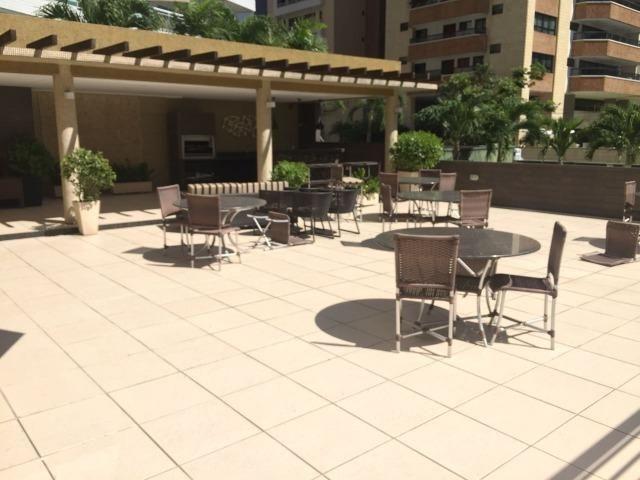 Apartamento no Meireles com vista mar e área de lazer 4 suítes na Joaquim Nabuco - Foto 2
