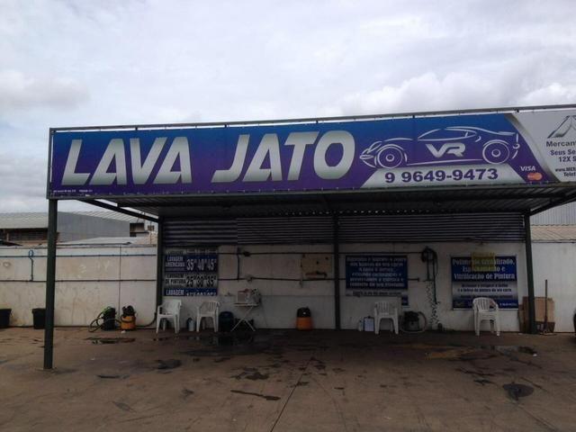 Vendo lava jato em posto de gasolina