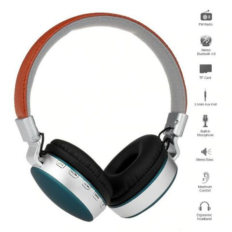 Fone De Ouvidoideal Bluetooth Headphone Wireless Ms-k4 -te.entregamos.gratis SP