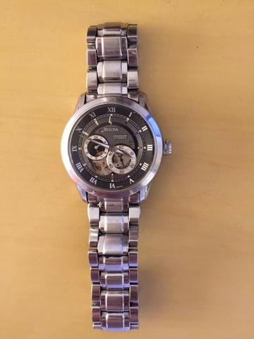 20e31af7d60 Relógio Bulova Automatic 21 Jewels - Bijouterias