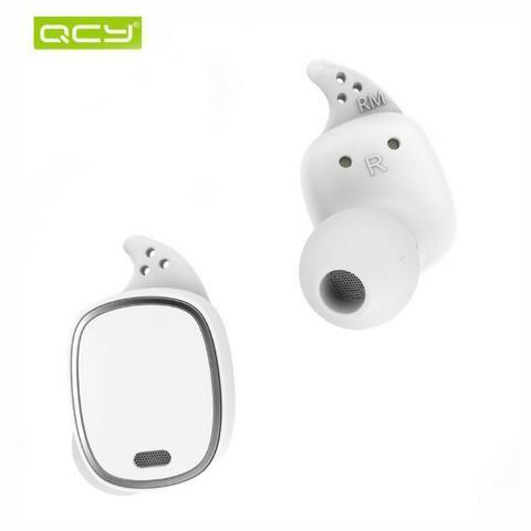 Fone de ouvido Bluetooth Earphone QCY-T1 Pro branco - Foto 2