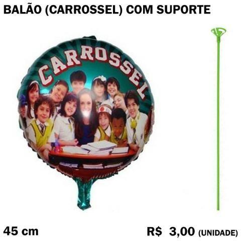 Balão Carrossel