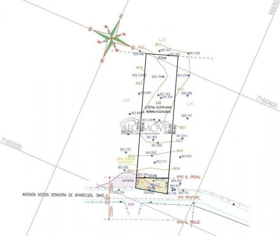 Terreno à venda, 1252 m² por R$ 275.569,00 - Estados - Fazenda Rio Grande/PR - Foto 10