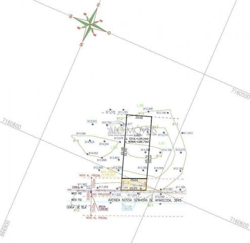 Terreno à venda, 1252 m² por R$ 275.569,00 - Estados - Fazenda Rio Grande/PR - Foto 19