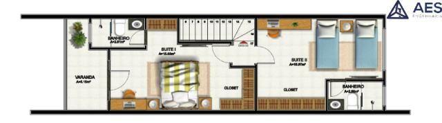 Duplex na Maraponga, 3 Quartos, 2 Suítes com documentação grátis a partir de 280.000,00 - Foto 7