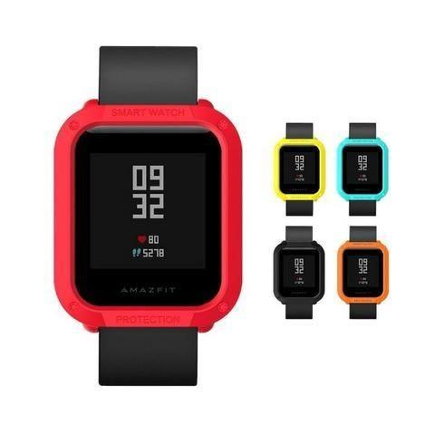 Capa Case Bumper Esportiva Para Proteção Xiaomi Huami Amazfit Bip Relógio Smartwatch - Foto 6