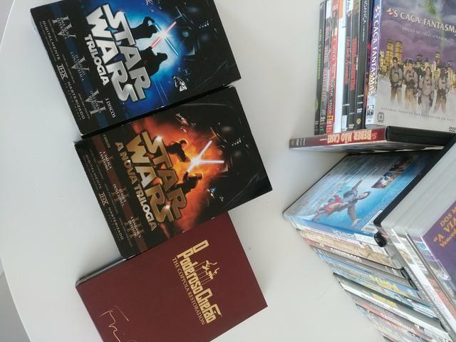 Coleçao de DVDs muitos título raros barbada - Foto 2