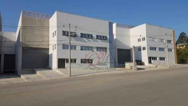 Galpão para alugar, 910 m² - centro (vargem grande paulista) - vargem grande paulista/sp