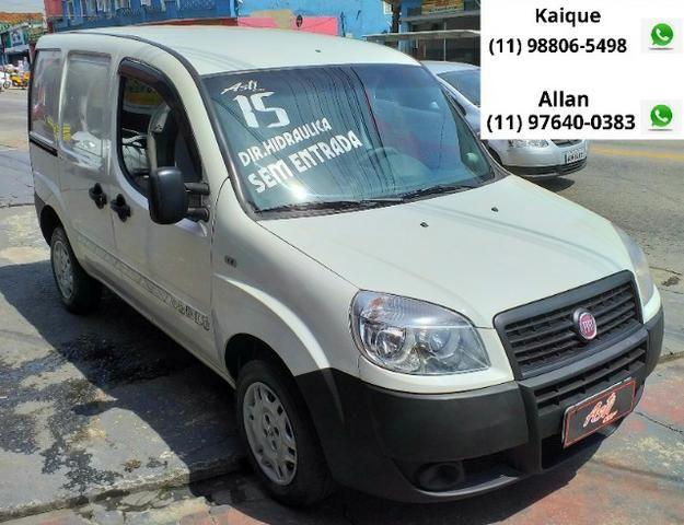 """Fiat Doblo 2015 com direção """"zero de entrada"""""""