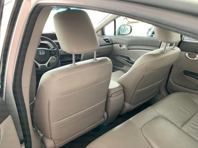 Honda Civic LXL 1.8 Aut - 2012 - Foto 9