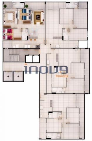 Apartamento com 3 dormitórios à venda, 78 m² por R$ 338.693,81 - Jacarecanga - Fortaleza/C - Foto 13
