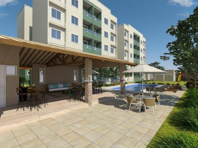 Reserva Natura - Apartamento com 2 dormitórios à venda, 55 m² por R$ 156.350 - Lagoa Redon - Foto 2