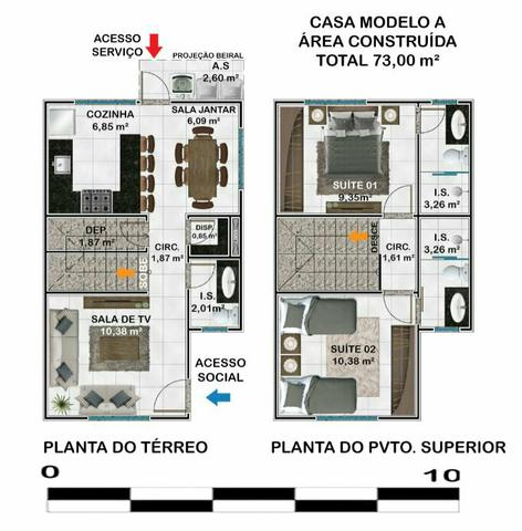 Casas no bairro Santa Rafaela - Foto 16