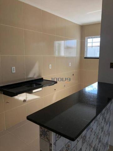 Apartamento com 2 dormitórios à venda, 54 m² por R$ 115.000,00 - Centro - Pacatuba/CE - Foto 5