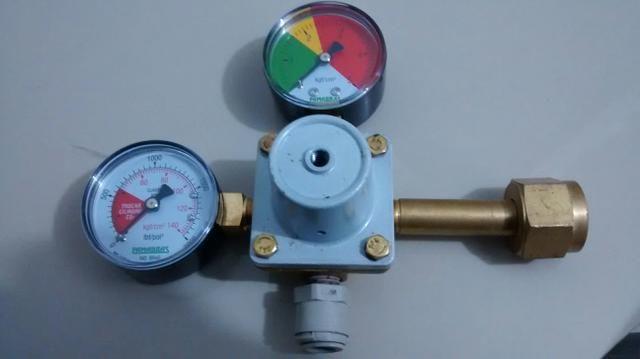 Regulador de pressão ( manômetro chopp