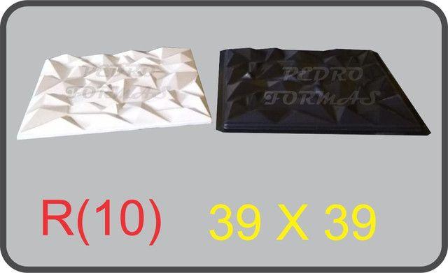 Forma de Gesso 3D - Foto 4
