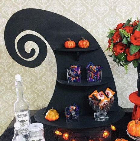 Chapéu porta doces - Halloween