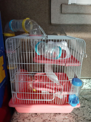 Gaiola pra hamster  nova completa