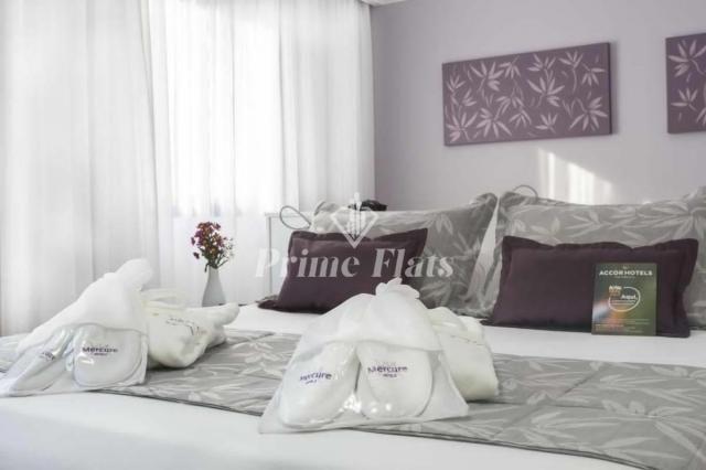 Flat para locação e venda no Mercure São Paulo Ibirapuera Privilege com 1 dormitório e 1 v - Foto 2