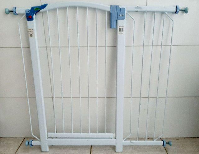 Kit proteção Tubline porta portão pet bebê  - Foto 4