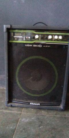 caixa de som 800w