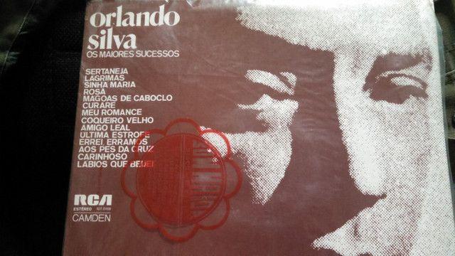 Lp Orlando Silva - Os Maiores Sucessos - Foto 2