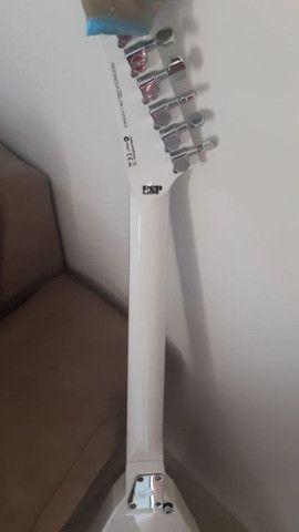 Guitarra Esp Ltd V-50 Branca