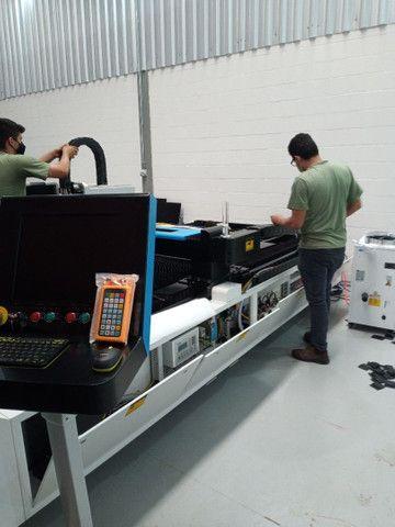 Máquina corte e solda a LASER entre outros equipamentos como dobradeira metaleira  - Foto 2