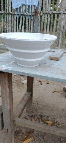 Vasos de cimento artesanal  - Foto 2