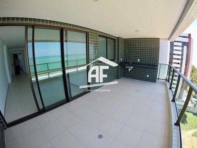 Apartamento com 4 quartos (2 suítes) - Alto padrão com vista total para o mar - Foto 5
