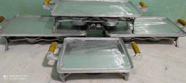 Picanheira de alumínio batido  - Foto 2
