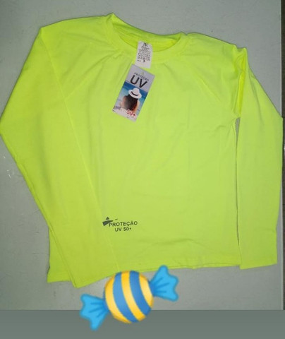 Camisa UV Infantil Malha Fria - Atacado e Varejo - Foto 3