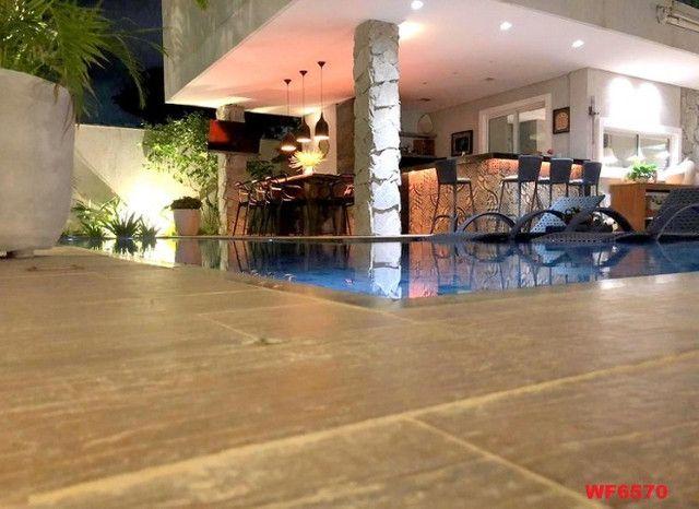 Jardins Ibiza, casa duplex Porteira Fechada, 4 quartos, 6 vagas, piscina, Eusébio - Foto 9