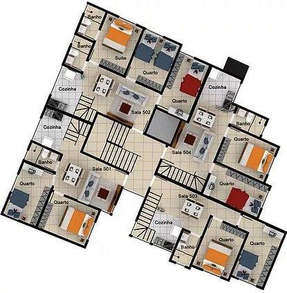 Apartamento à venda com 2 dormitórios em Caiçara, Belo horizonte cod:6237 - Foto 12