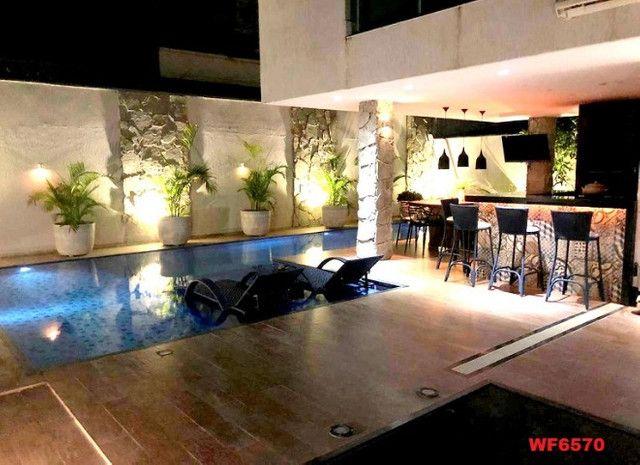 Jardins Ibiza, casa duplex Porteira Fechada, 4 quartos, 6 vagas, piscina, Eusébio - Foto 10