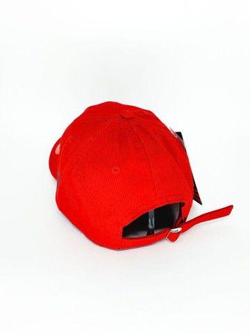 Boné Flamengo Dad Hat Strapback Unissex  - Foto 6