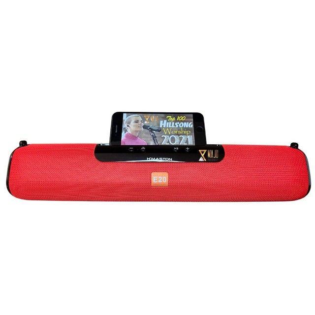 Caixa Som Alto Falante Hmaston E-20 Portátil Bluetooth  - Foto 4