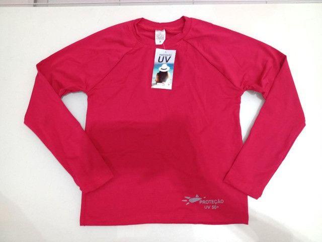 Camisa UV Infantil Malha Fria - Atacado e Varejo - Foto 4