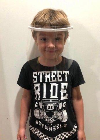 Máscara Viseira de Proteção Facial Infantil